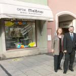 Optik Meißner mit Chef (Foto: Optiker)