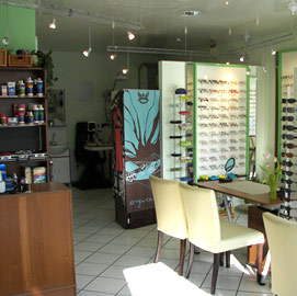 Ladenansicht Brille Einmal (Foto: Optiker)
