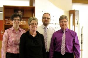 Team von Optik Otto (Foto: Optiker)